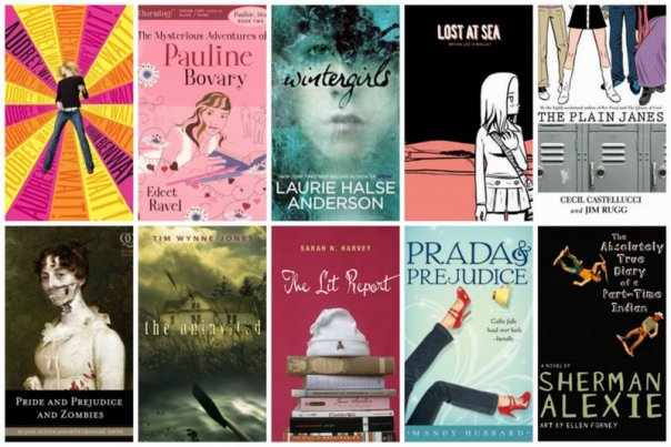 Summer YA Books1